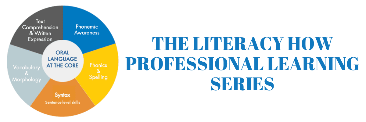 literacy how professional learning series
